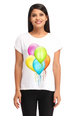 Buy Snoby Ballons Printed T-Shirt online