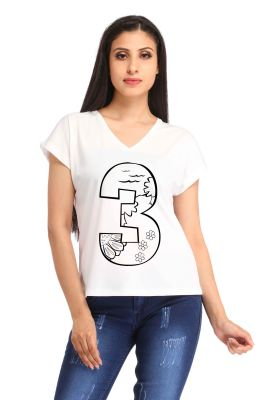 Buy Snoby 3 Print T-Shirt online