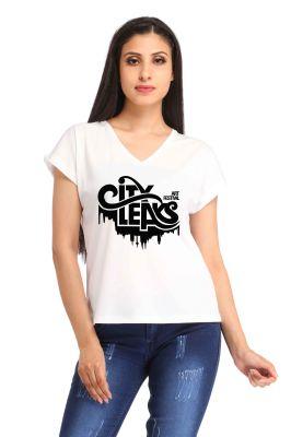 Buy Snoby City Leaks Print T-shirt (sbypt1935) online