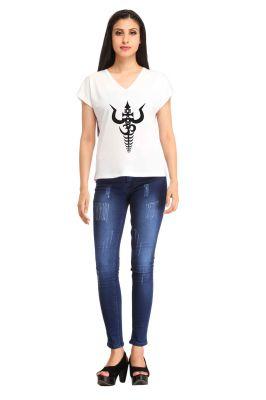 Buy Snoby Trishul Print T-shirt (sbypt1973) online
