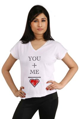 Buy Snoby Love Me Printed T-shirt (sbypt2045) online