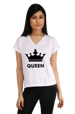 Buy Snoby Queen Printed T-shirt (sbypt2051) online