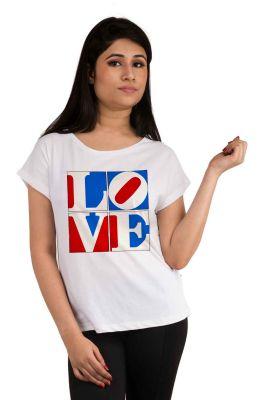 Buy Snoby Love Printed T-shirt (sbypt2068) online