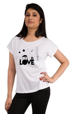 Buy Snoby Love Printed T-shirt (sbypt2102) online