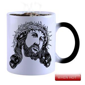 Buy Snoby Magic Mug Black Ceramic Colour Changing Coffee Mug online