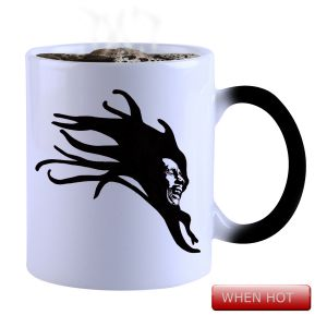 Buy Snoby Magic Mug Black Ceramic Colour Changing Coffee Mug(setg_760) online