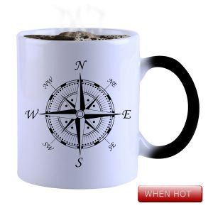 Buy Snoby Magic Mug Black Ceramic Colour Changing Coffee Mug(setg_782) online