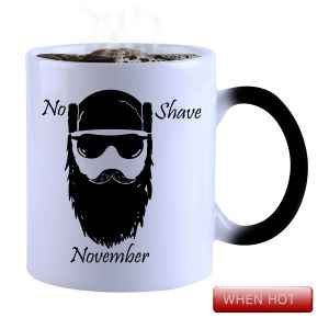 Buy Snoby Magic Mug Black Ceramic Colour Changing Coffee Mug(setg_844) online