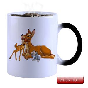 Buy Snoby Magic Mug Black Ceramic Colour Changing Coffee Mug(setg_873) online