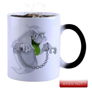 Buy Snoby Magic Mug Black Ceramic Colour Changing Coffee Mug(setg_904) online
