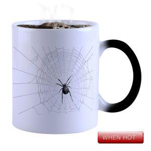 Buy Snoby Magic Mug Black Ceramic Colour Changing Coffee Mug(setg_910) online