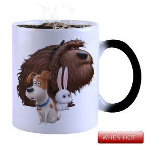 Buy Snoby Magic Mug Black Ceramic Colour Changing Coffee Mug(setg_945) online