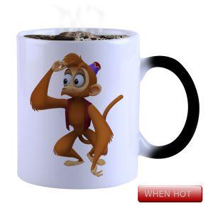 Buy Snoby Magic Mug Black Ceramic Colour Changing Coffee Mug(setg_946) online