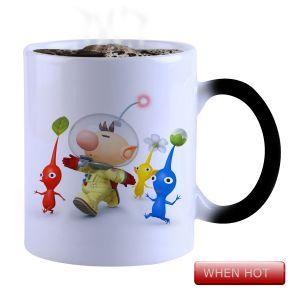Buy Snoby Magic Mug Black Ceramic Colour Changing Coffee Mug(setg_974) online