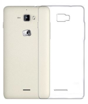 Buy Snoby Silicon Back Cover For Micromax Canvas Nitro A310 (Transparent) online