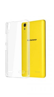 Buy Snoby Silicon  Back Cover For Lenovo A6000  (Transparent) online
