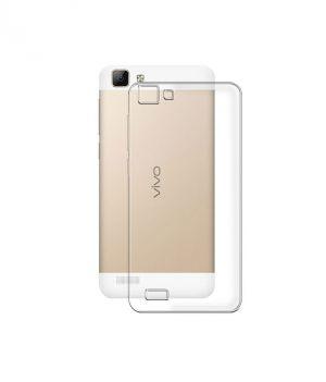 Buy Snoby Silicon Back Cover For Vivo V1 (transparent) (setm_176) online