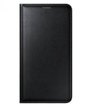 Buy Snoby Leather Flip Cover For Samsung Galaxy J2 (Black) online