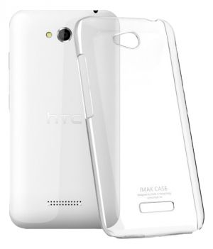 Buy Snoby Silicon Back Cover For Htc Desire 616 (transparent) (setm_285) online