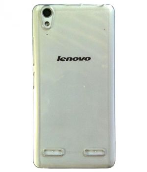 Buy Snoby Silicon Back Cover For Lenovo A6000 (transparent) (setm_286) online