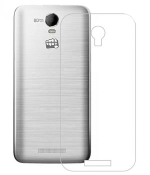 Buy Snoby Plastic Back Cover For Micromax Bolt Q335 (Transparent) online