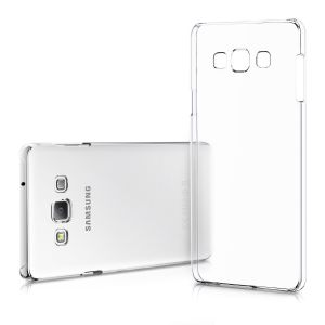 Buy Snoby Rubber Back Cover For Samsung Galaxy A7 (Transparent) online