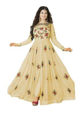 Buy Yoyo Fashion Stylish Designer Embroidered Gerorgette Bollywood Replica Anarkali Salwar Suit F111 online