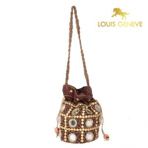 Buy Louis Geneve Potli For Ladies_Dbrown online
