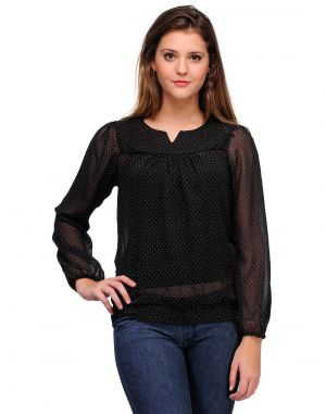 Buy Sportelle Usa India Chiffon Printed Top_7127_ online