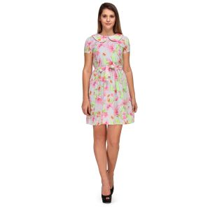 Buy Sportelle Usa India Crepe Skater Dress_7177_ online