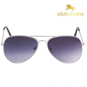 8cef5c6eb0f Buy Louis Geneve Blue Plastic Sunglass For Men Blue Online