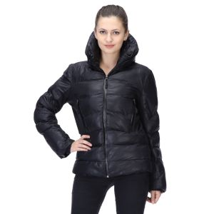 Buy Le Fashionelle Full Sleeves Stylish European Winter Jacket With High Grade Polyfill For Women's/girl's- Lf-bjacket-101 online