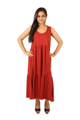 Buy Indricka Red Color Dress For Women. online