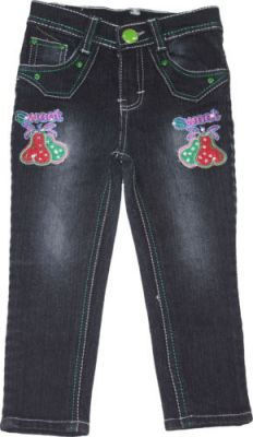 Buy Mankoose Jeans- Girls Slim Fit Jeans Color Black, Size 22 4-5 Yr online
