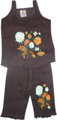 Buy Girls Dress Set Top & Pant Brown Color (size-m) 6-12 Months online