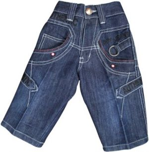 Buy Mankoose Embroidered Boy's Denim Three Fourths online