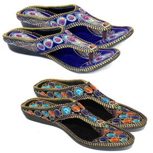 Buy Great Art Women Fashionabal Party Wear Fancy Slipper Sandals Combo online
