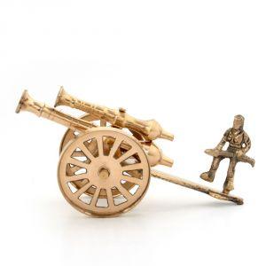 Buy Brass Rajasthani Canon Handicraft Home Decor -147 online