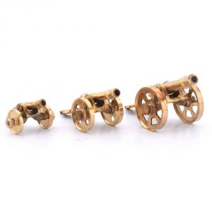 Buy Pure Brass 3 Piece Handicraft Canon Set Gift -151 online