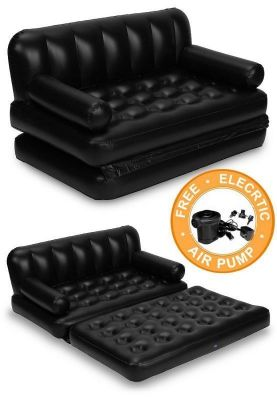 Buy 5 In 1 Air Inflatable Sofa Cum Bed online