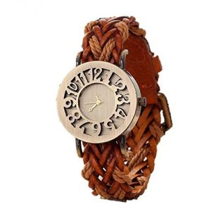 Buy Fap Hallow Brown Analog Womens Watch online