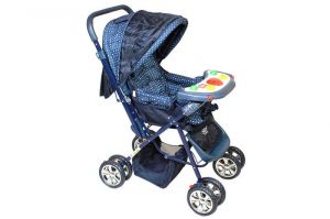 Buy Dealbindaas Pram Musical Comfort Cushioned Assorted Colour online