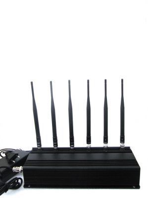 Buy High Power Mobile Phone Jammer 4 Antenna- Spy Universe online