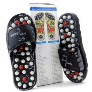 Buy Reflexology Sandals - Massage Slippers Acupressure Foot Massager online