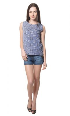 Buy Visach Solid Top For Girls For Casual Wear_vs_top2010_blu online