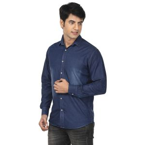 Buy Visach Men Denim Shirt For Casual Wear online