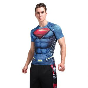Buy Visach Dry Fit Gym clothing set of compression tees with shorts for  workout online