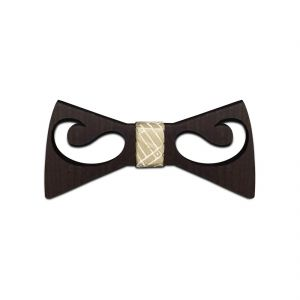 Buy Visach Wooden Designer Neck Bows For Men online