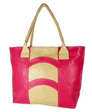 Buy All Day 365 Pink Artificial Leather Fashion Bag online