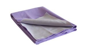 Buy Glassiano Ninnu  Water Proof Medium Size 70X100 Cm Violet Baby Sheet online